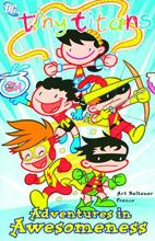 Image: Tiny Titans Vol. 02: Adventures in Awesomeness SC  - DC Comics