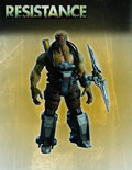 Image: Resistance Series 1 Action Figure: Ravager  - DC Direct