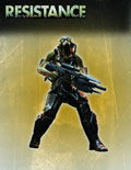 Image: Resistance Series 1 Action Figure: Steelhead  - DC Direct