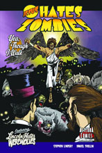 Image: Jesus Hates Zombies Featuring Lincoln Hates Werewolves SC  - Alterna Comics Inc
