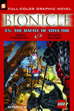 Image: Bionicle Graphic Nove #5: The Battle of Voya Nui SC  - Papercutz