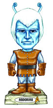 Image: Star Trek Wacky Wobbler Bobble-Head: Andorian  -