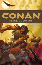 Image: Conan Vol. 08: Black Colossus SC  - Dark Horse Comics