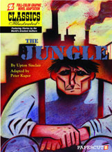 Image: Classics Illustrated Graphic Novel #9: The Jungle HC  - Papercutz