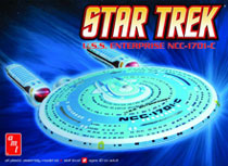 Image: Star Trek Model Kit: U.S.S. Enterprise NCC-1701-C  -