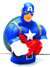 Image: Captain America Bust Bank  -
