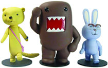 Image: Domo and Friends Figure Set  - Dark Horse