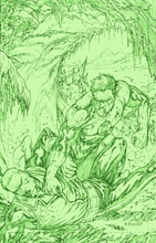 Image: Green Lantern: Emerald Warriors #9 (variant cover) (v10) - DC Comics