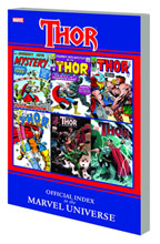 Image: Thor Official Index to the Marvel Universe SC  - Marvel Comics