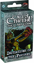 Image: Call of Cthulhu Card Game Asylum Pack: Initiations of the Favored  - Fantasy Flight Publishing Inc