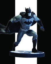Image: Batman Black and White New 52 Statue by Jim Lee  - DC Direct