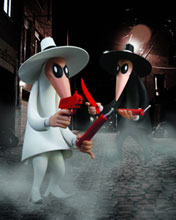 Image: Mad Vinyl Spy vs. Spy 2-Pack  - DC Direct