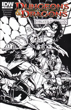 Image: Dungeons & Dragons: Forgotten Realms #1 (25-copy B&W incentive cover) (v25)