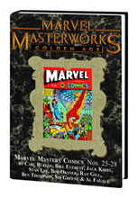 Image: Marvel Masterworks Vol. 183: Golden Age Marvel Mystery Comics Nos. 25-28 HC  - Marvel Comics