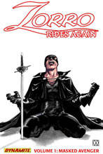 Image: Zorro Rides Again Vol. 01: Masked Avenger SC  - D. E./Dynamite Entertainment