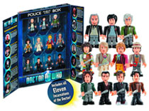 Image: Doctor Who Character Building: 11 Doctors Mini-Figure Set  -