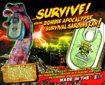 Image: Zombie Apocalypse Survival Kit in a Sardine Can  -