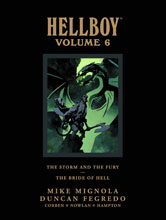 Image: Hellboy Library Vol. 06: The Storm and the Fury / The Bride of Hell HC  - Dark Horse Comics