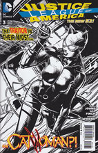 Image: Justice League of America #3 (B&W variant cover) - DC Comics