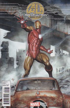 Image: Age of Ultron #5 (Granov Iron Man variant cover) - Marvel Comics