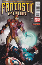 Image: Fantastic Four #6 (Iron Man Many Armors variant cover)
