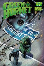 Image: Green Hornet #2 (2013) (subscription cover - Lau) - D. E./Dynamite Entertainment
