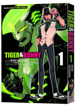 Image: Tiger & Bunny Vol. 01 SC  - Viz Media LLC