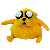 Image: Adventure Time 7-inch Fat Jake Plush  - Adventure Time