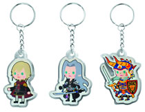 Image: Final Fantasy Brigade Character Keychain Ace 12-Piece Bag  - Final Fantasy