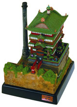 Image: Spirited Away: Bath House Diorama  - Studio Ghibli