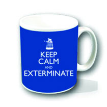 Image: Doctor Who Mug: Keep Calm and Exterminate  - Doctor Who