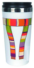 Image: Doctor Who 4th Doctor Scarf Travel Mug  - Doctor Who