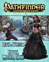 Image: Pathfinder Adventure Path Vol. 69: Maiden, Mother, Crone SC  - Paizo Publishing Llc