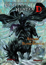 Image: Vampire Hunter D Novel Vol. 21: Record of the Blood Battle SC  - Dark Horse Comics