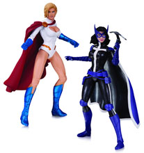 Image: DC Comics New 52 Action Figure Set: World's Finest Huntress & Powergirl  - DC Direct