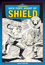 Image: Steranko's Nick Fury, Agent of S.H.I.E.L.D. Artist's Edition HC  (2nd edition) - IDW Publishing