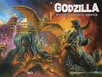 Image: Godzilla: History's Greatest Monster SC  - IDW Publishing