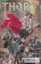 Image: Thor: God of Thunder #21 (variant cover - Garney) - Marvel Comics