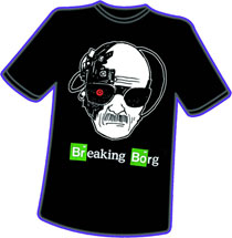 Image: Breaking Borg T-Shirt  (XXXL) - Antarctic Press