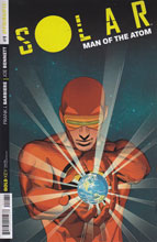 Image: Solar: Man of the Atom #1 (50-copy incentive cover - Stephen Mooney art) - Dynamite