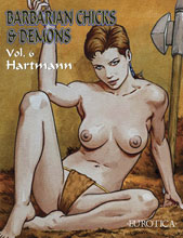 Image: Barbarian Chicks and Demons Vol. 06 SC  - NBM - Eurotica