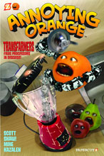 Image: Annoying Orange Vol. 05: Transfarmers Fruit Processors In Disguise HC  - Papercutz