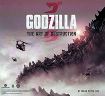 Image: Godzilla: Art of Destruction HC  - Insight Editions