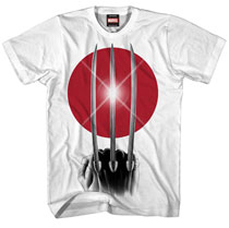 Image: Wolverine: Rising Claw T-Shirt [White]  (L) -