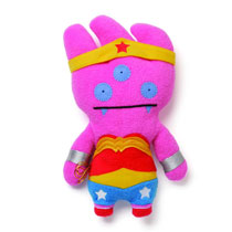 Image: Uglydoll DC 11-Inch Plush: Wonder Woman  -