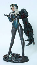 Image: Fantasy Figure Gallery: Space Host Girl Statue  -