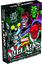 Image: Marvel Villains Playing Cards  -