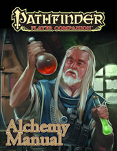 Image: Pathfinder Player Companion: Alchemy Manual  -