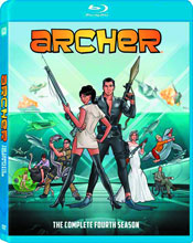 Image: Archer: Season 04 BluRay  -