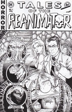 Image: Reanimator #1 (Mangum b&w variant incentive cover - 01041) (15-copy) - Dynamite